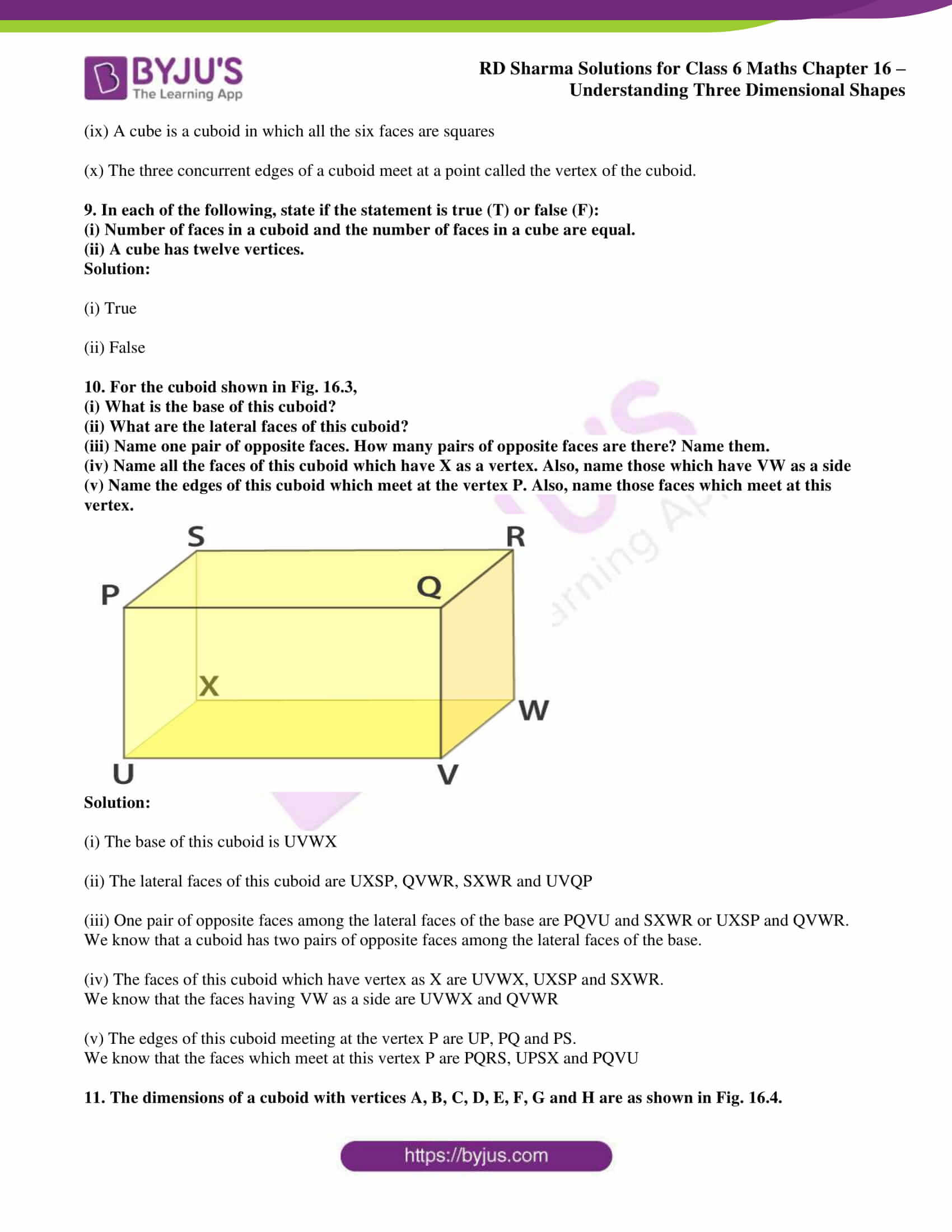 rd sharma solutions class 6 maths chapter 16