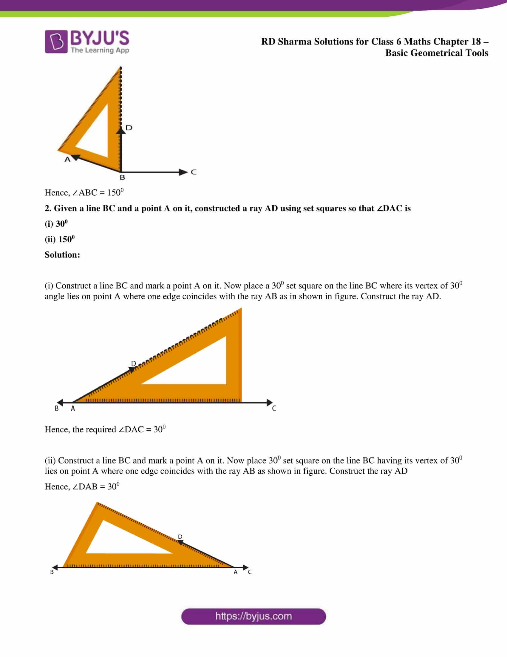 rd sharma solutions class 6 maths chapter 18