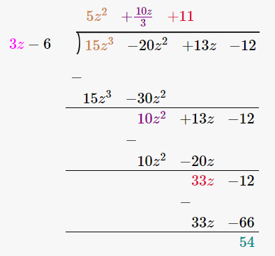 RD Sharma Solutions for Class 8 Maths Chapter 8 – Division of Algebraic Expressions image- 18