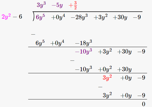 RD Sharma Solutions for Class 8 Maths Chapter 8 – Division of Algebraic Expressions image- 19