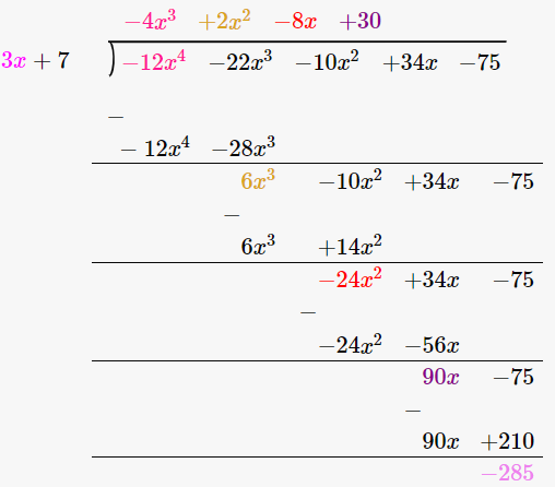 RD Sharma Solutions for Class 8 Maths Chapter 8 – Division of Algebraic Expressions image- 20