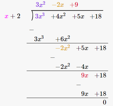 RD Sharma Solutions for Class 8 Maths Chapter 8 – Division of Algebraic Expressions image- 3