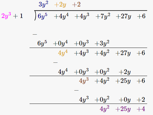 RD Sharma Solutions for Class 8 Maths Chapter 8 – Division of Algebraic Expressions image- 23