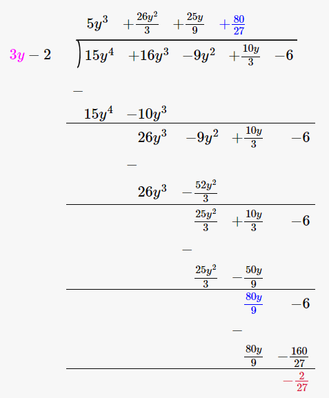 RD Sharma Solutions for Class 8 Maths Chapter 8 – Division of Algebraic Expressions image- 24