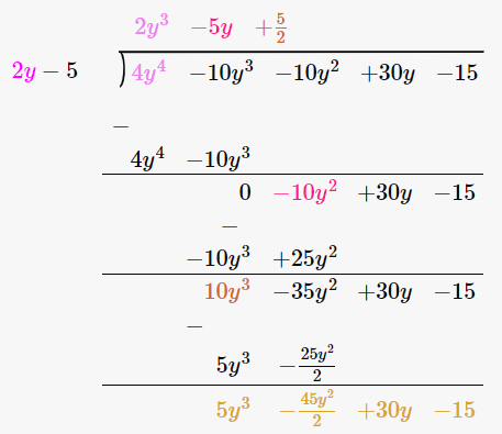 RD Sharma Solutions for Class 8 Maths Chapter 8 – Division of Algebraic Expressions image- 27