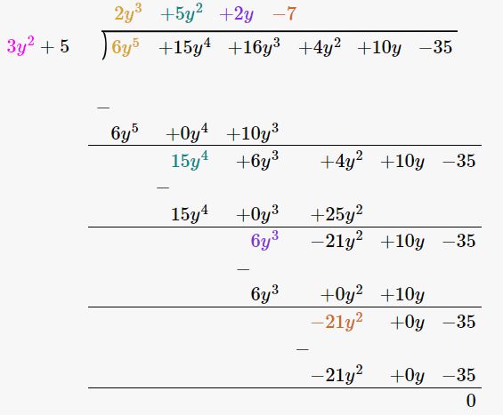 RD Sharma Solutions for Class 8 Maths Chapter 8 – Division of Algebraic Expressions image- 28