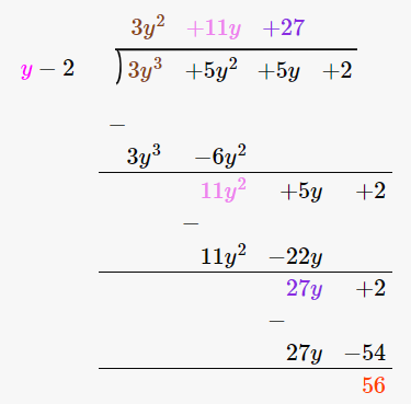 RD Sharma Solutions for Class 8 Maths Chapter 8 – Division of Algebraic Expressions image- 38