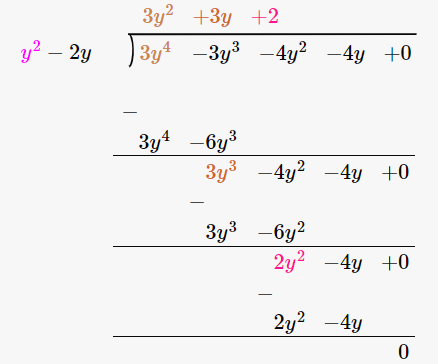 RD Sharma Solutions for Class 8 Maths Chapter 8 – Division of Algebraic Expressions image- 6