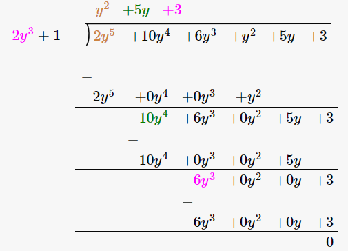 RD Sharma Solutions for Class 8 Maths Chapter 8 – Division of Algebraic Expressions image- 7