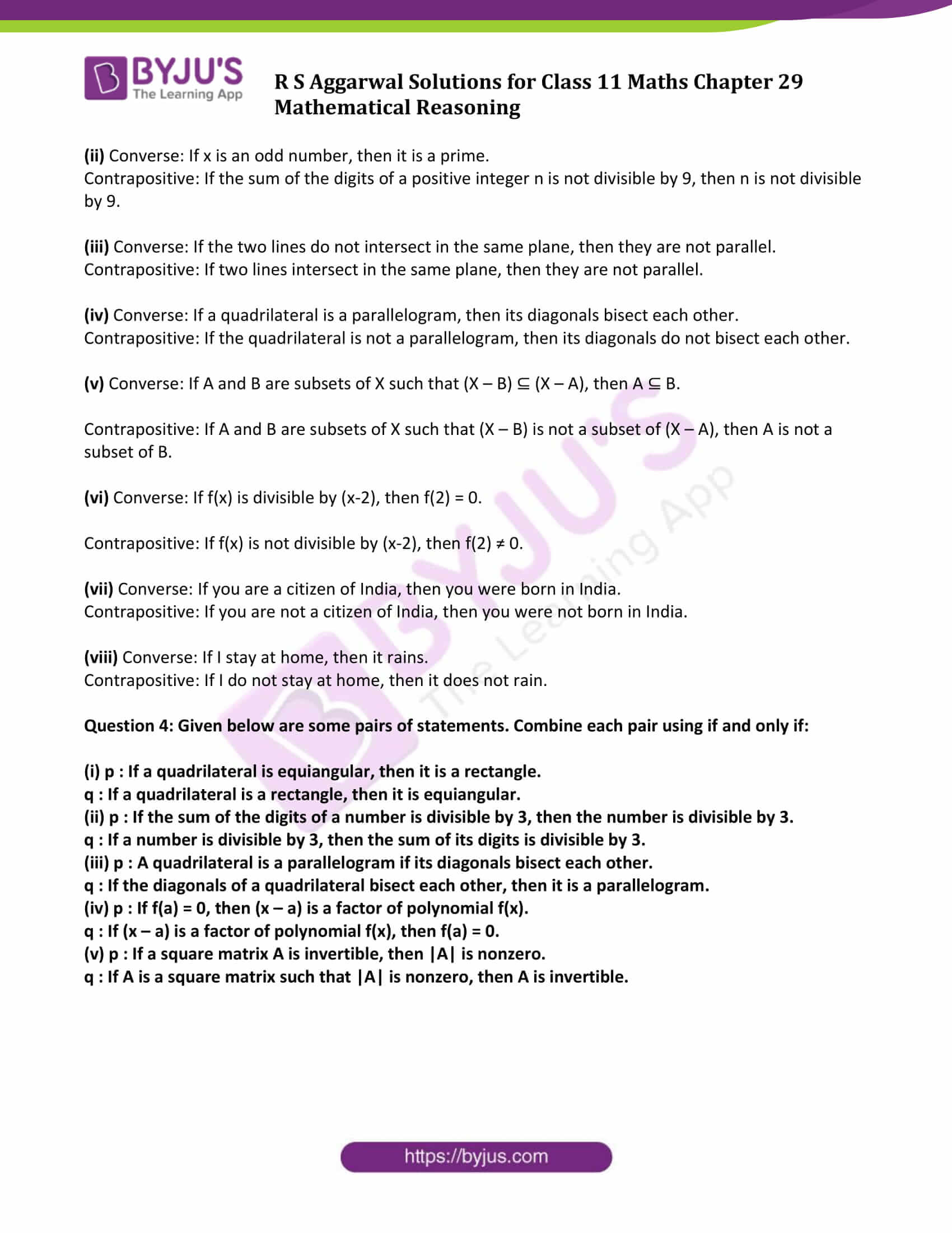 rs aggarwal solution class 11 maths chapter 29 ex c