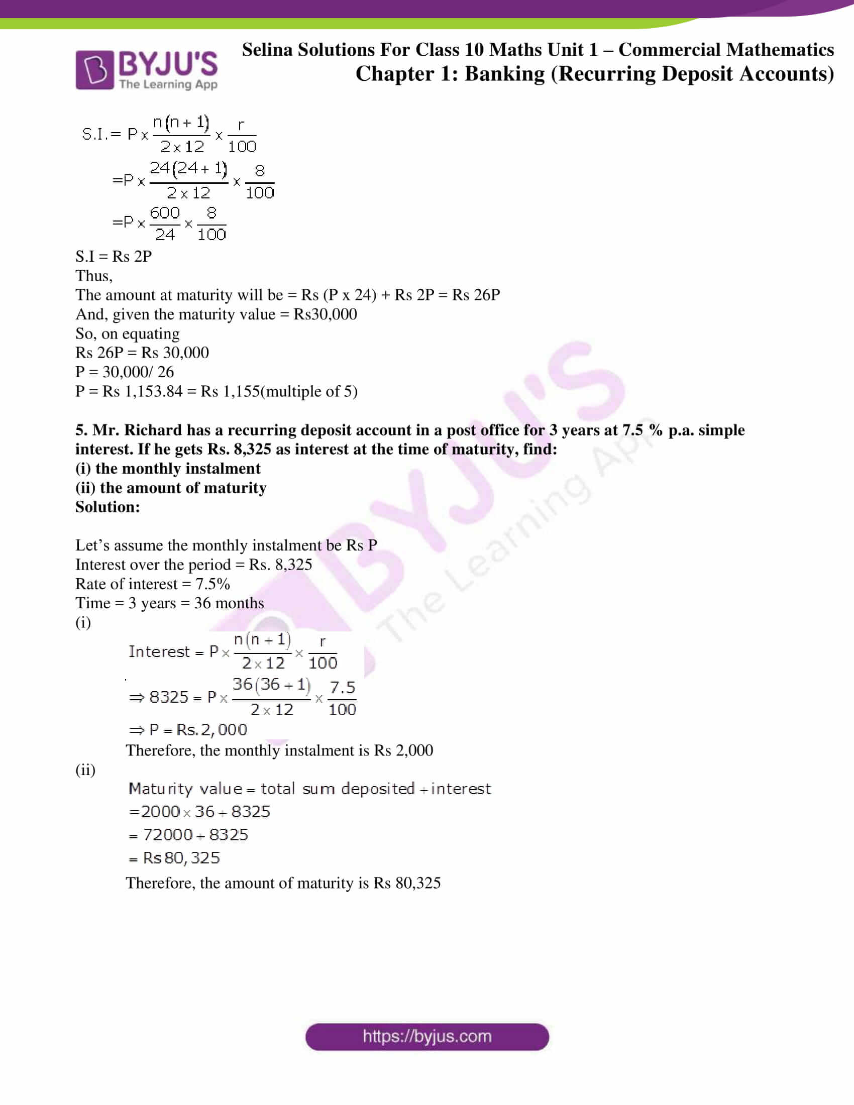 selina solution concise maths class 10 chapter 2