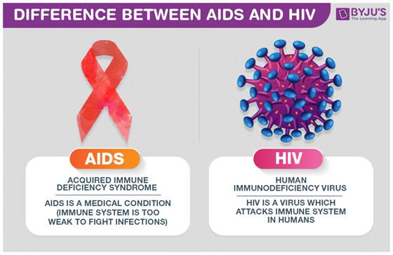 Difference between AIDS and HIV