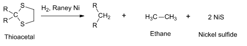 Raney Nickel Desulfurization Catalysis