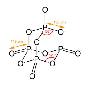 Phosphorus Pentoxide Structure