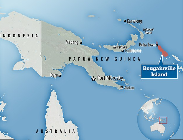 Bougainville Island Map