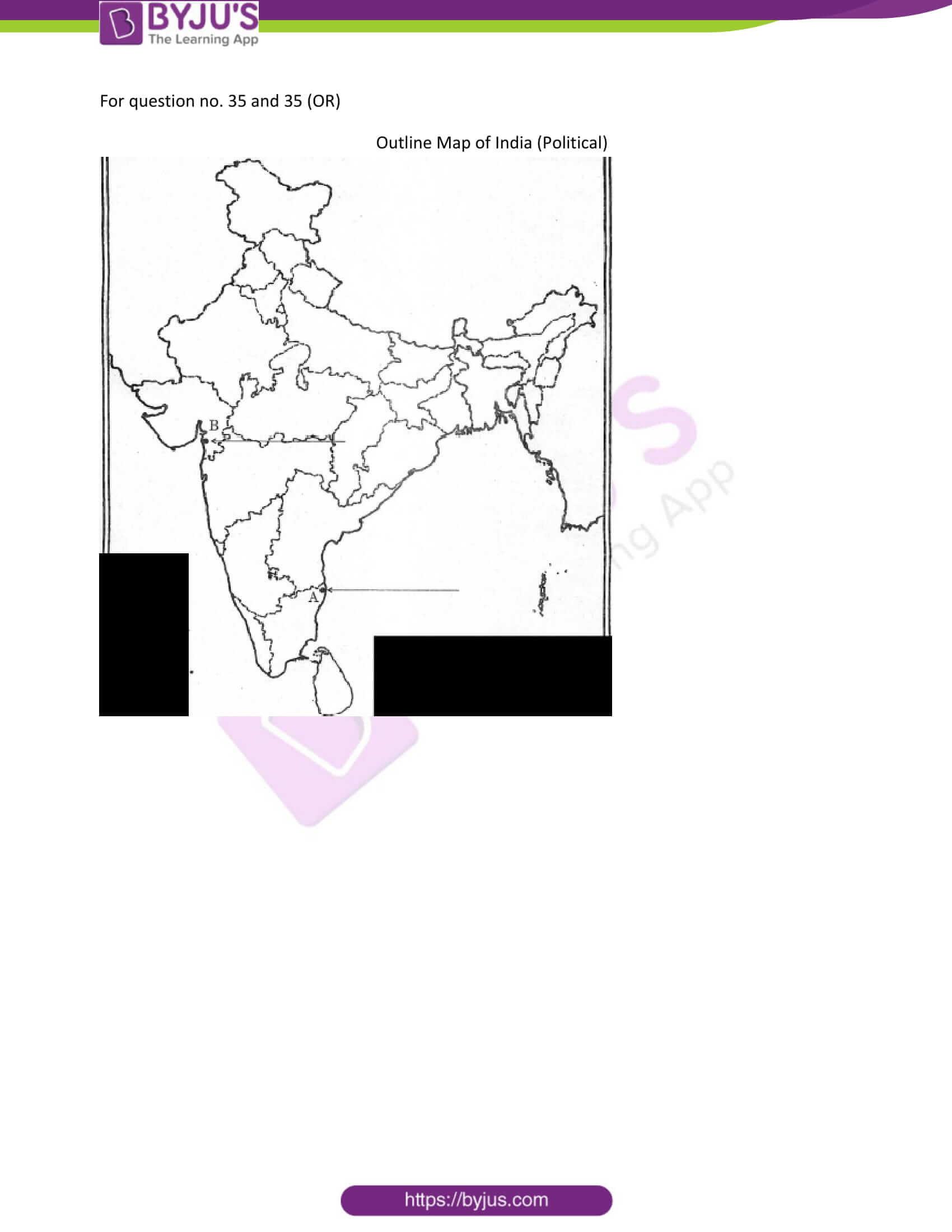 cbse class 10 ss qn paper 2012 set 1