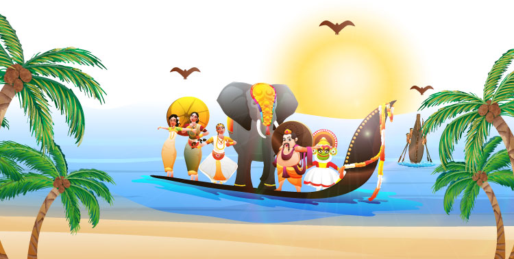 Image of a boat with people - GK Questions for Class 2