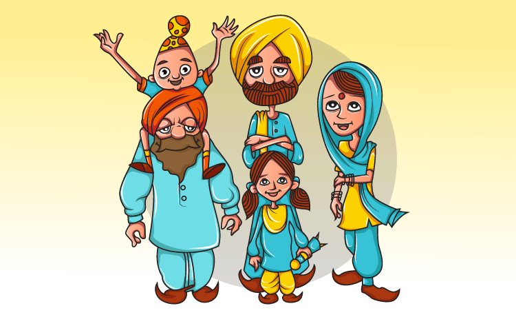Image of Sikh people - GK Questions for Class 2