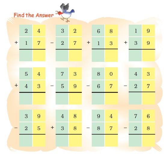 NCERT Solutions For Class 2 Maths Chapter 14 - 14
