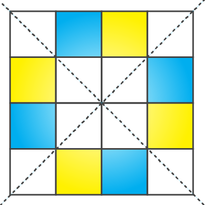 NCERT Solutions for Class 7 Maths Chapter 14 Symmetry Image 65
