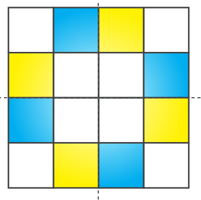 NCERT Solutions for Class 7 Maths Chapter 14 Symmetry Image 66