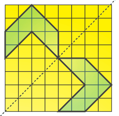 NCERT Solutions for Class 7 Maths Chapter 14 Symmetry Image 68