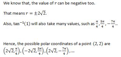 Polar coordinate Notes 1