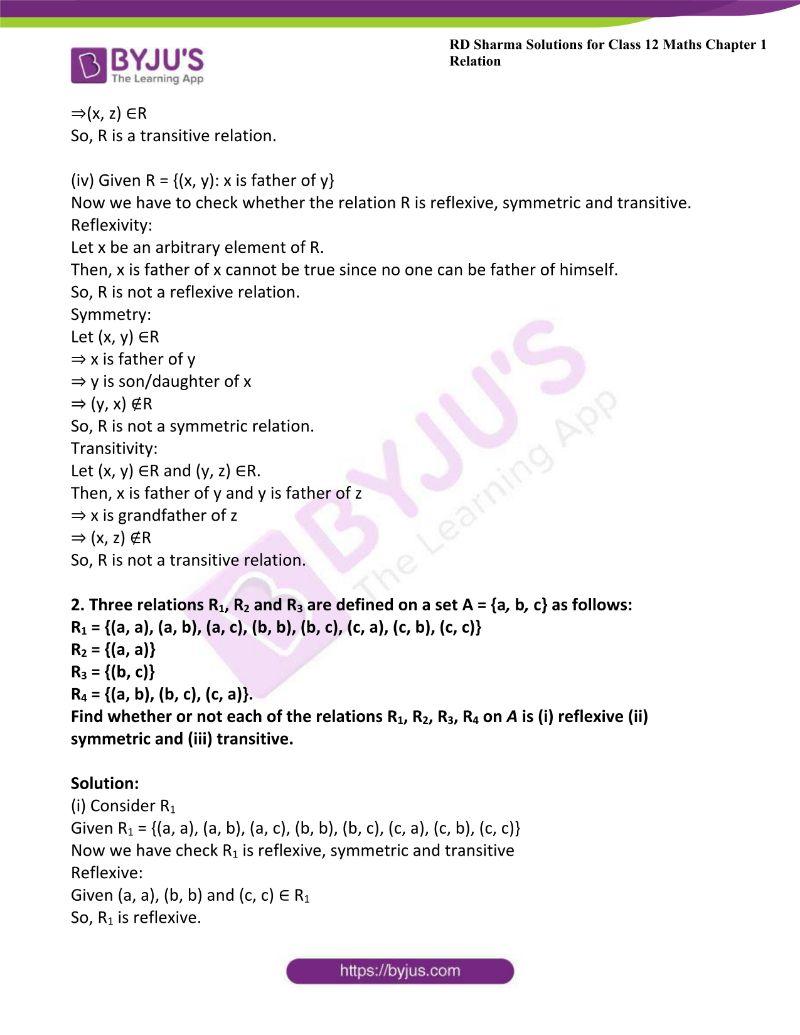 rd sharma class 12 maths chp 1 ex 1 2