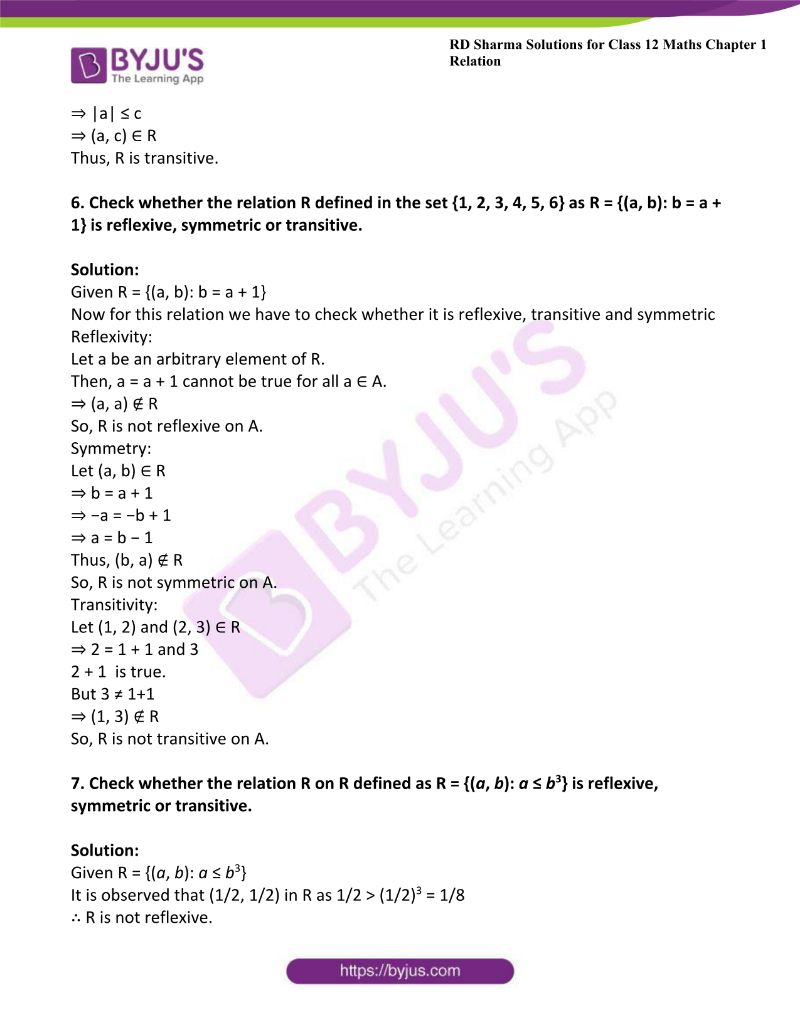 rd sharma class 12 maths chp 1 ex 1 9