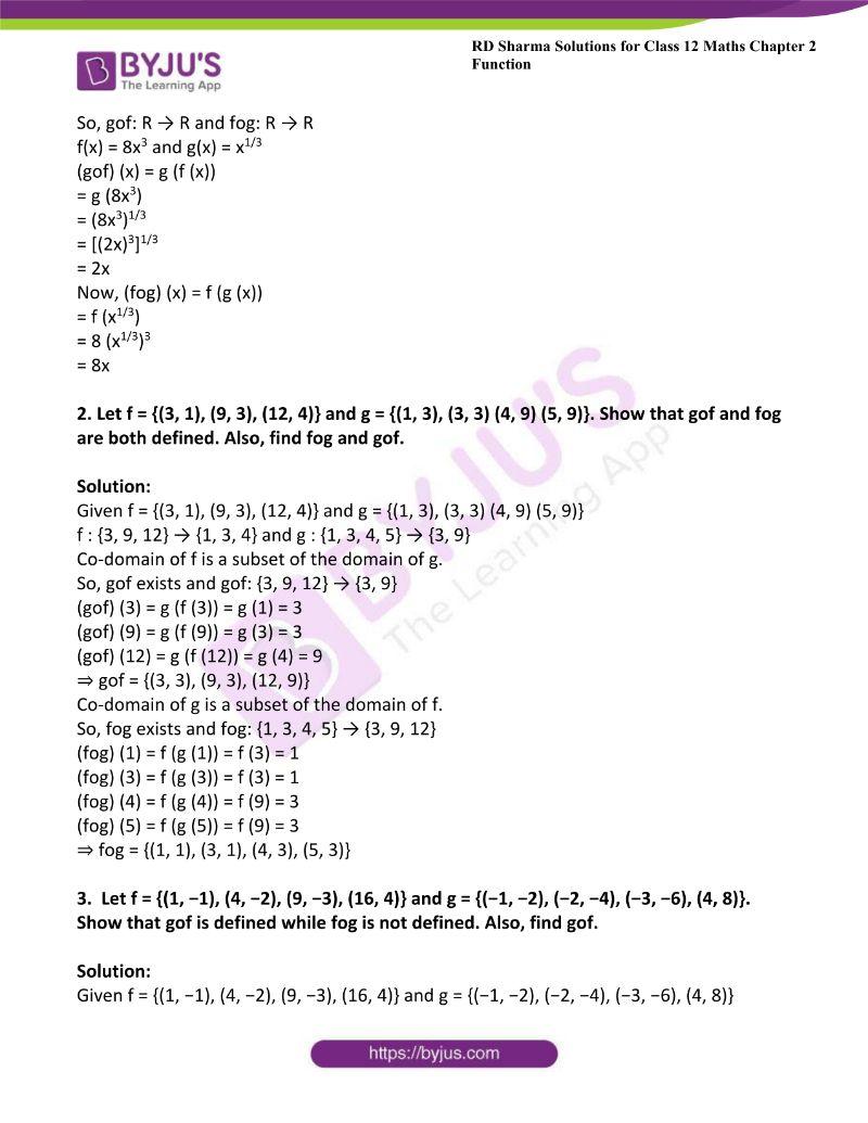 rd sharma class 12 maths chp 2 ex 2 2