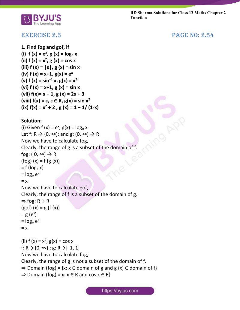 rd sharma class 12 maths chp 2 ex 3