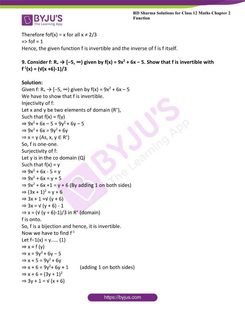 rd sharma class 12 maths chp 2 ex 4 6