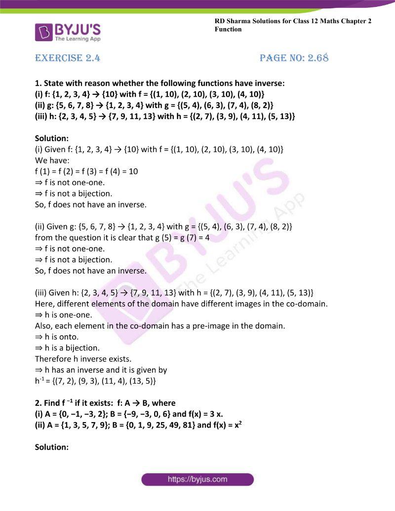 rd sharma class 12 maths chp 2 ex 4