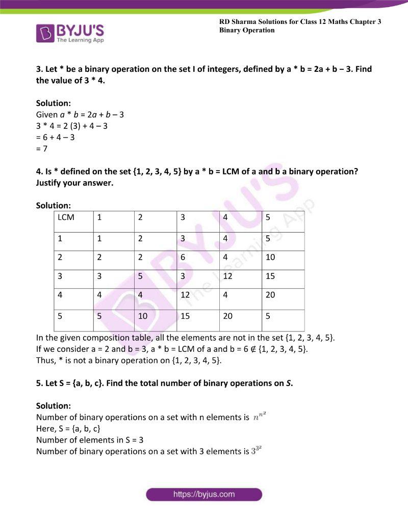 rd sharma class 12 maths chp 3 ex 1 4