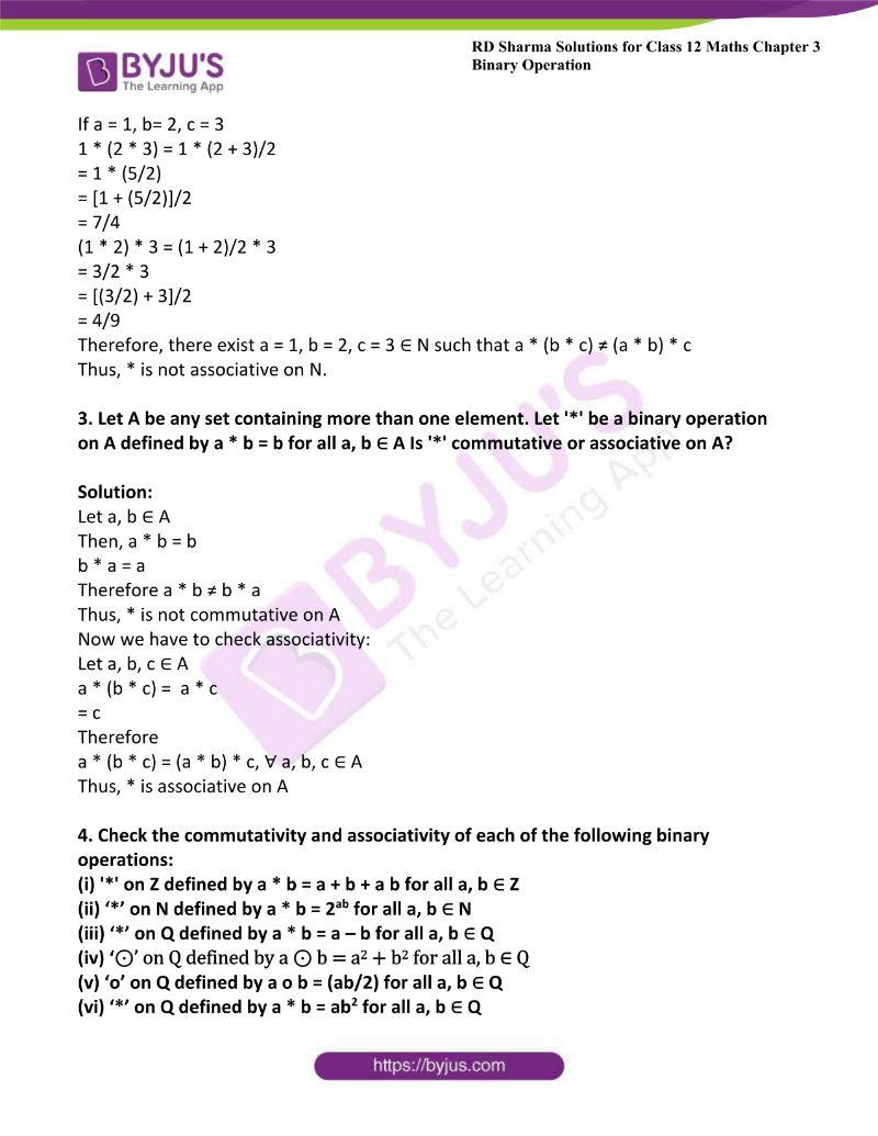 rd sharma class 12 maths chp 3 ex 2 2