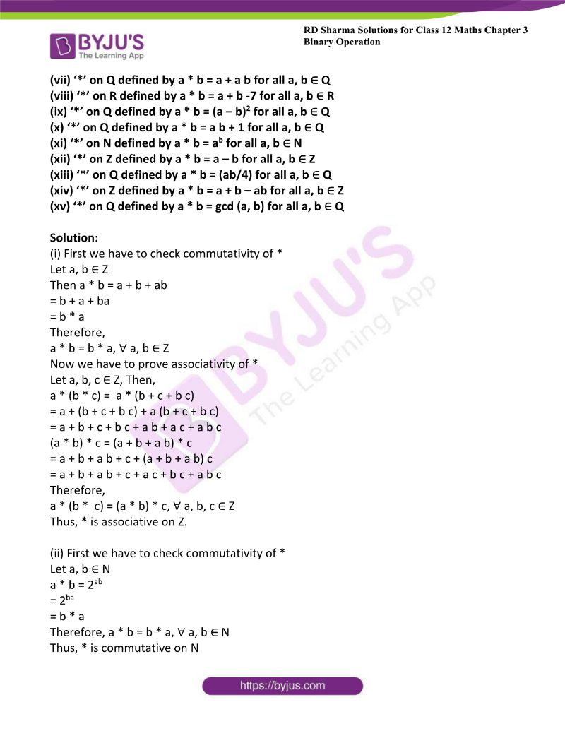 rd sharma class 12 maths chp 3 ex 2 3