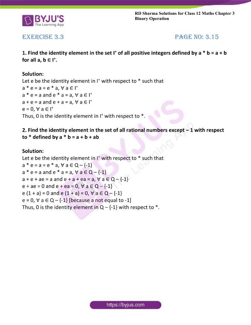 rd sharma class 12 maths chp 3 ex 3