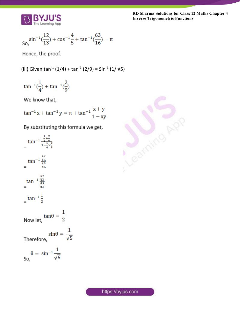 rd sharma class 12 maths chp 4 ex 11 2