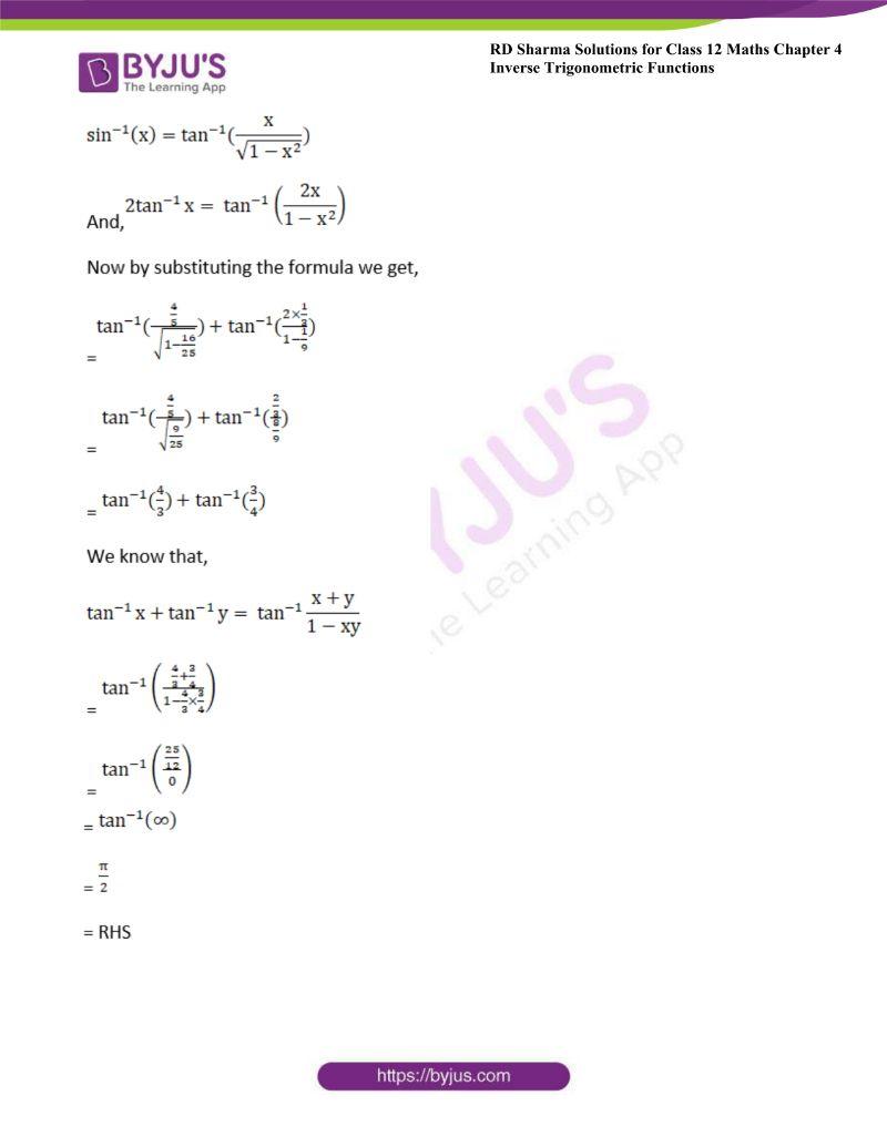 rd sharma class 12 maths chp 4 ex 14 10