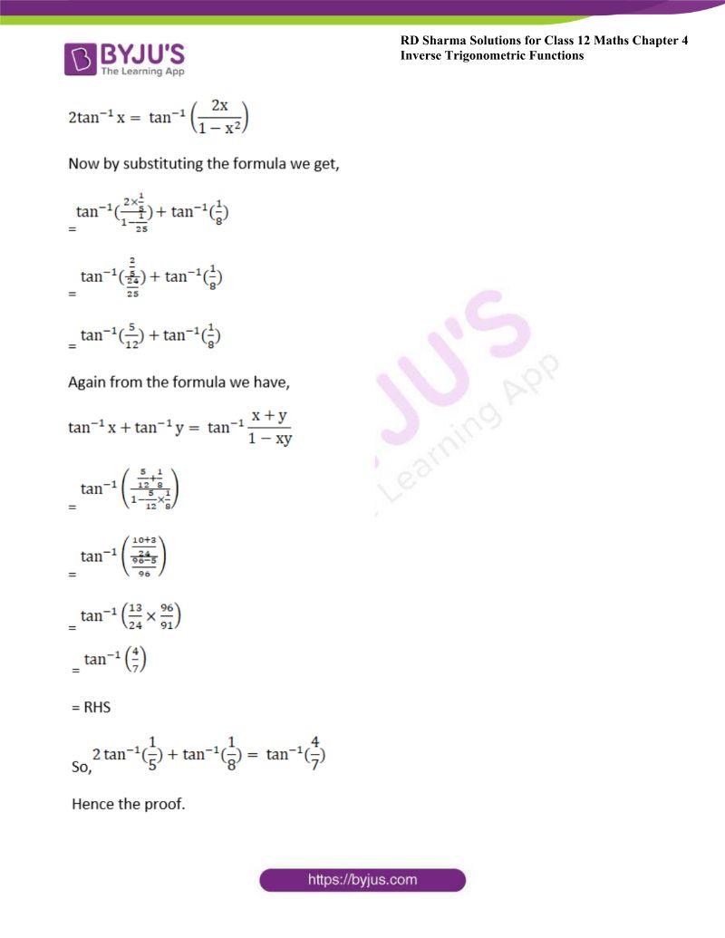 rd sharma class 12 maths chp 4 ex 14 13