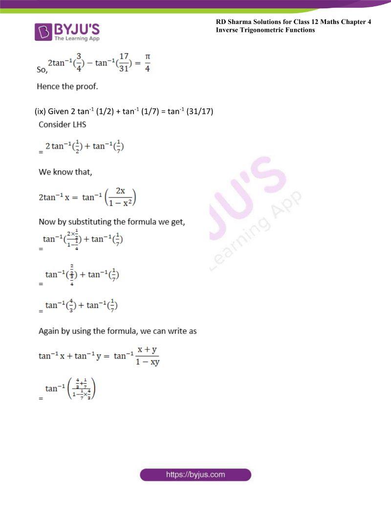 rd sharma class 12 maths chp 4 ex 14 15