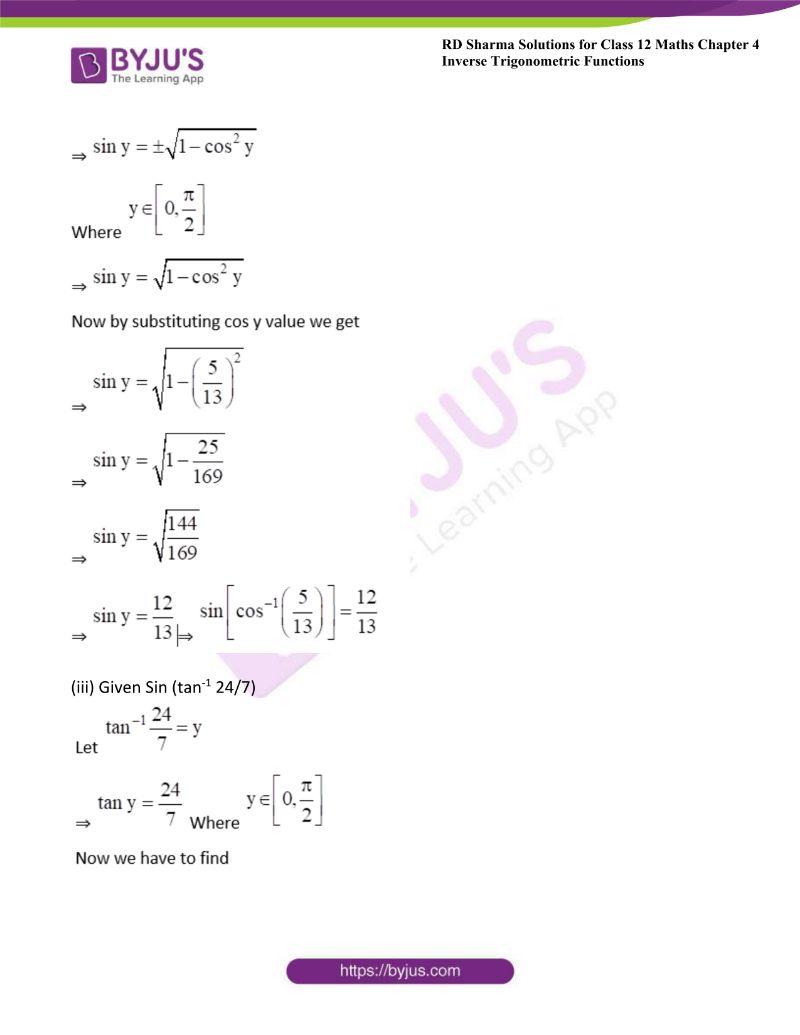 rd sharma class 12 maths chp 4 ex 8 1
