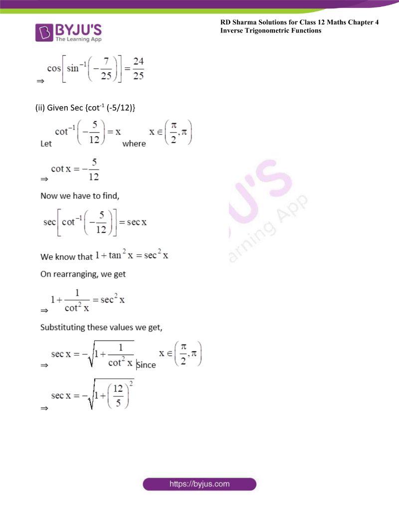 rd sharma class 12 maths chp 4 ex 9 1