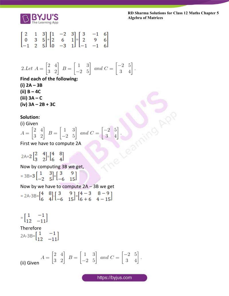 rd sharma class 12 maths chp 5 ex 2 1