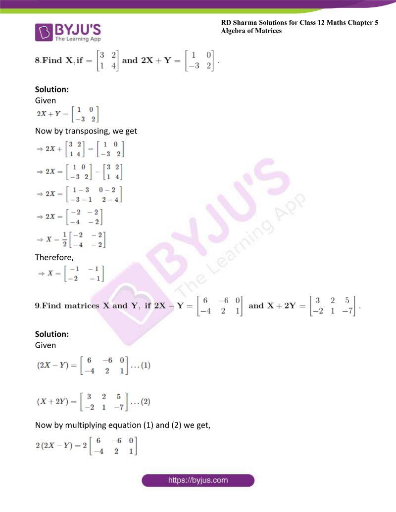 rd sharma class 12 maths chp 5 ex 2 10