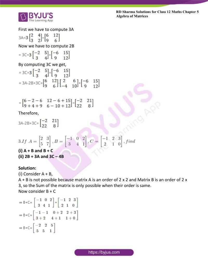 rd sharma class 12 maths chp 5 ex 2 3