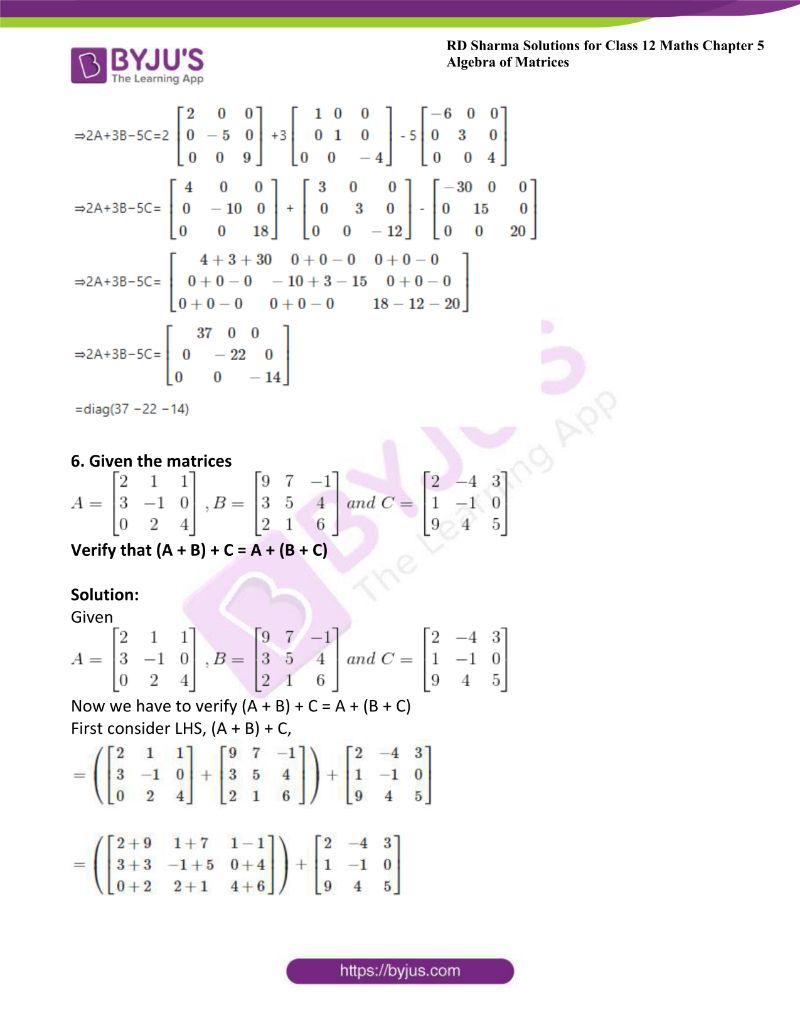 rd sharma class 12 maths chp 5 ex 2 7