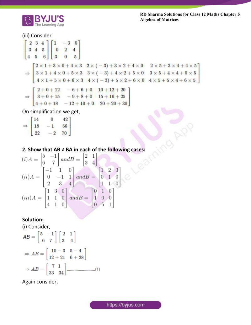 rd sharma class 12 maths chp 5 ex 3 1