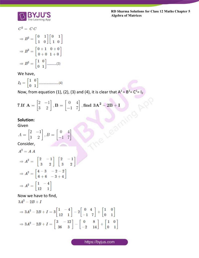 rd sharma class 12 maths chp 5 ex 3 10