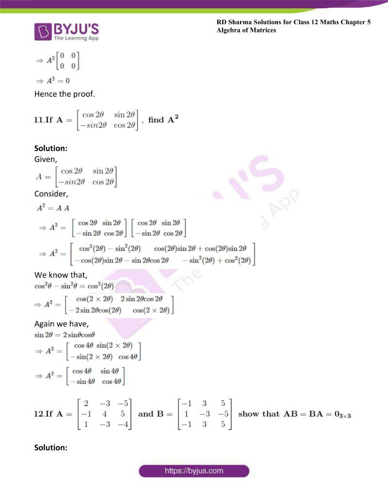 rd sharma class 12 maths chp 5 ex 3 13